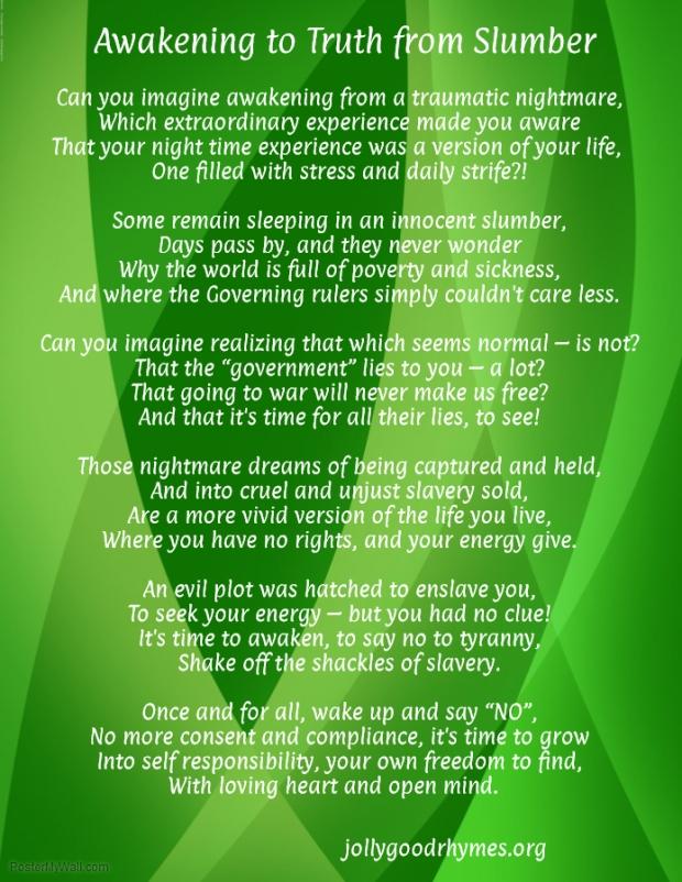 Awakening to Truth from Slumber
