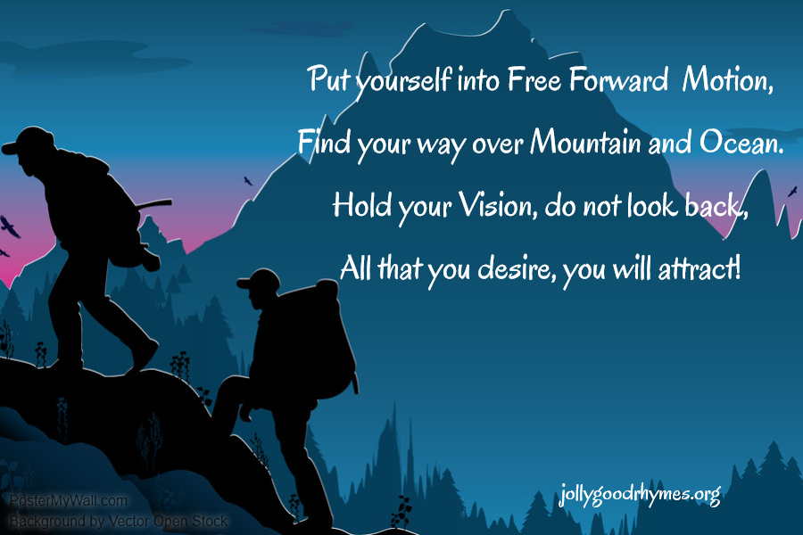 Put yourself in Free Forward Motion